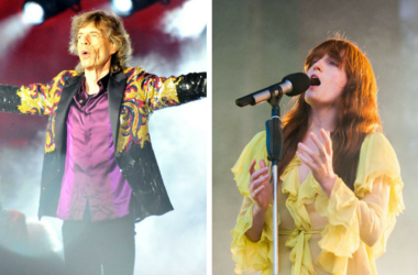 Mick Jagger and Florence Welch
