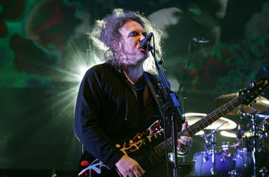 File photo dated 29/03/14 of Robert Smith of The Cure performing on stage