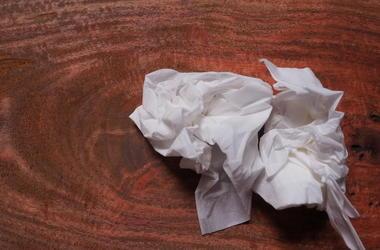 used tissue