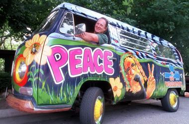 Jerry Garcia Van