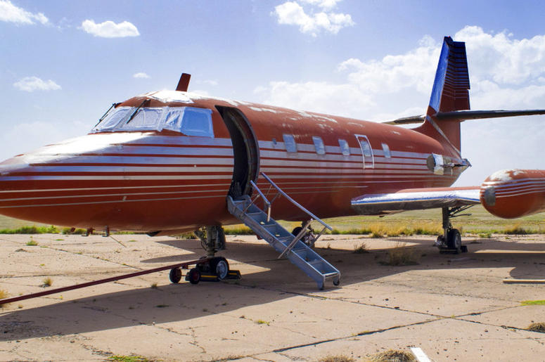 Private Jet Once Owned By Elvis Presley For Sale _ Again | 1059 SUNNY FM
