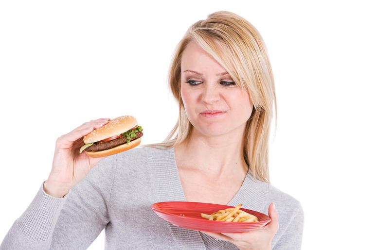 gross food