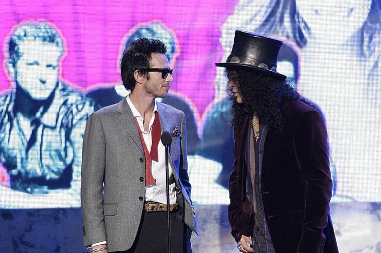 Scott Weiland and Slash