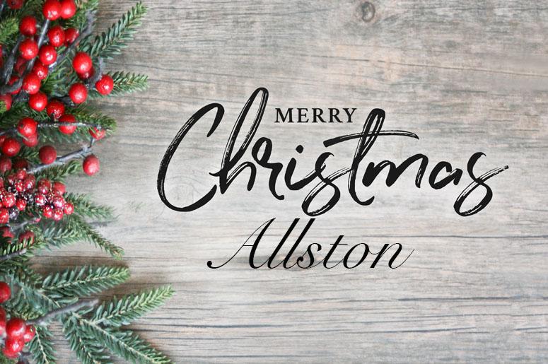 Allston Christmas.Have A Holly Jolly Allston Christmas 103 3 Amp Radio