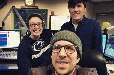 Loren, TJ & Producer Matt