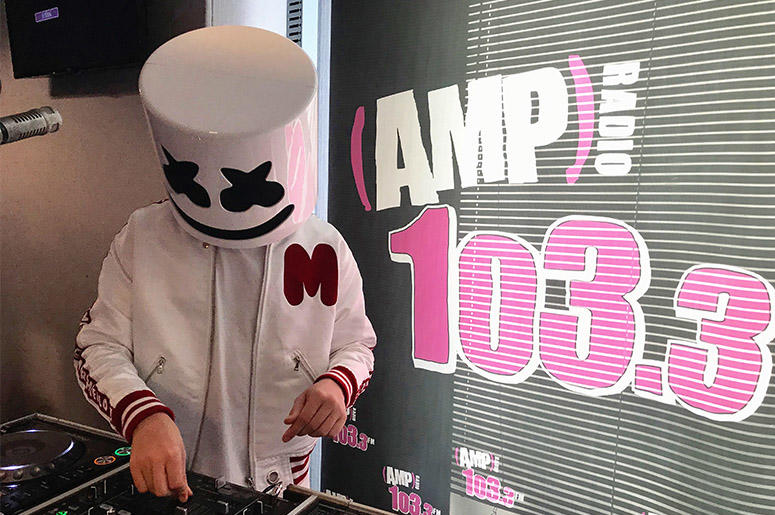 Marshmello At 103.3 AMP Radio