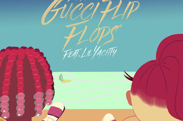"""Bhad Bhabie """"Gucci Flip Flops"""" Cover"""