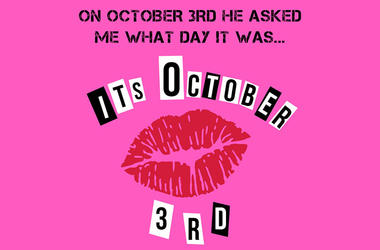 Mean Girls It's October 3rd