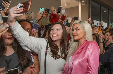 Kylie Jenner Fan Selfie