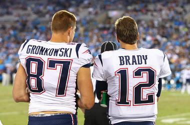 Tom Brady Rob Gronkowski