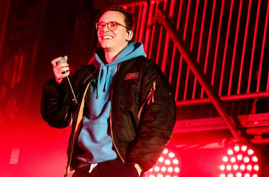Logic performs onstage during the 2019 AT&T Playoff Playlist Live at Discovery Meadow Park on January 5, 2019 in San Jose, California
