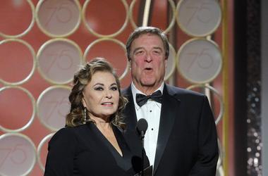 Roseanne & John Goodman