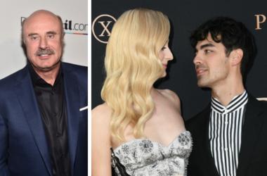 Dr. Phil, Sophie Turner, Joe Jonas