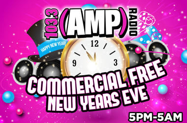 Commercial Free New Years Eve 2018