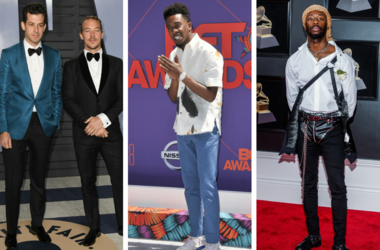 Mark Ronson, Diplo. 2018 Vanity Fair Oscar Party following the 90th Academy Awards held at the Wallis Annenberg Center for the Performing Arts. / Desiigner arrives at the 2018 BET Awards / GoldLink arrives at the 60th Annual GRAMMY Awards