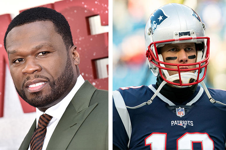 50 Cent Cheers On Tom Brady After He Posts Video With Song