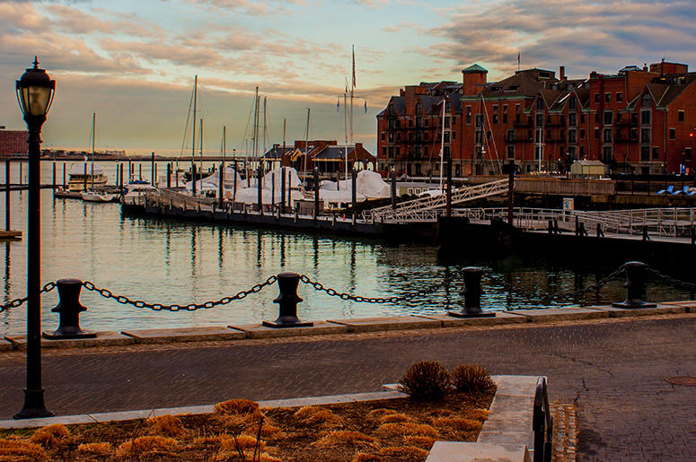 Boston Boat Harbor
