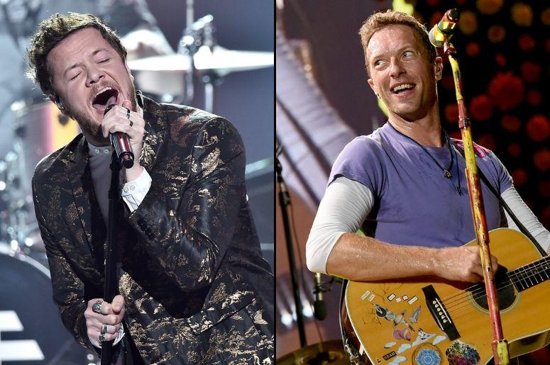 Imagine Dragons and Coldplay