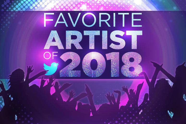 Favorite Artists 2018