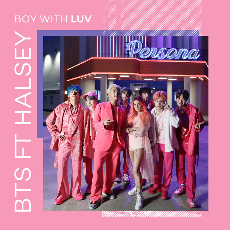 "BTS featuring Halsey - ""Boy With Luv"""