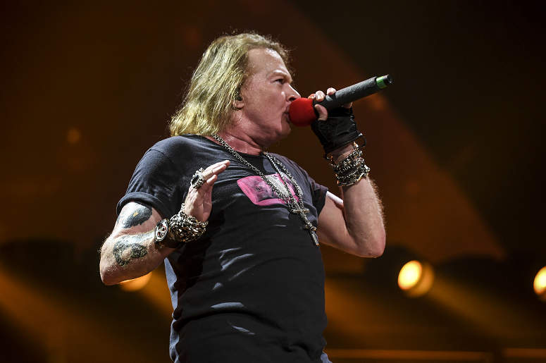 Axl Rose Gives Rare Interview, Doesn't Discount New Music