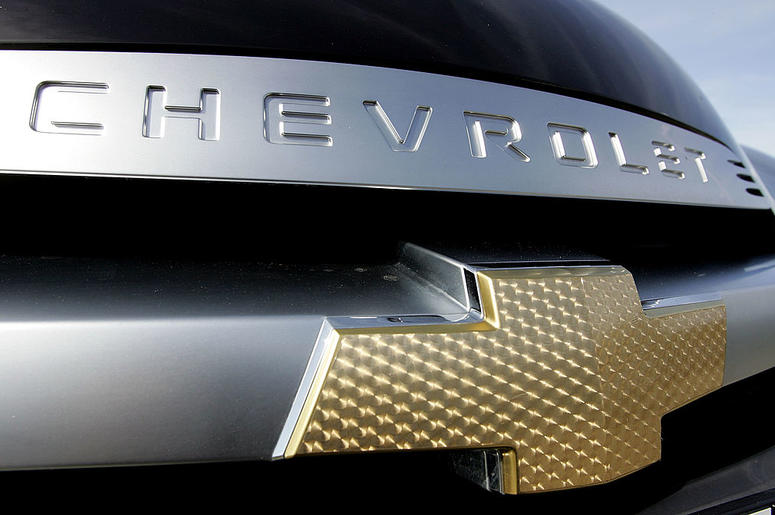 The Chevrolet logo is seen on a vehicle at the F.H. Dailey auto dealership March 14, 2007 in San Leandro, California. U.S. automaker General Motors reported a fourth quarter profit of $950 million after two years of quarterly losses.