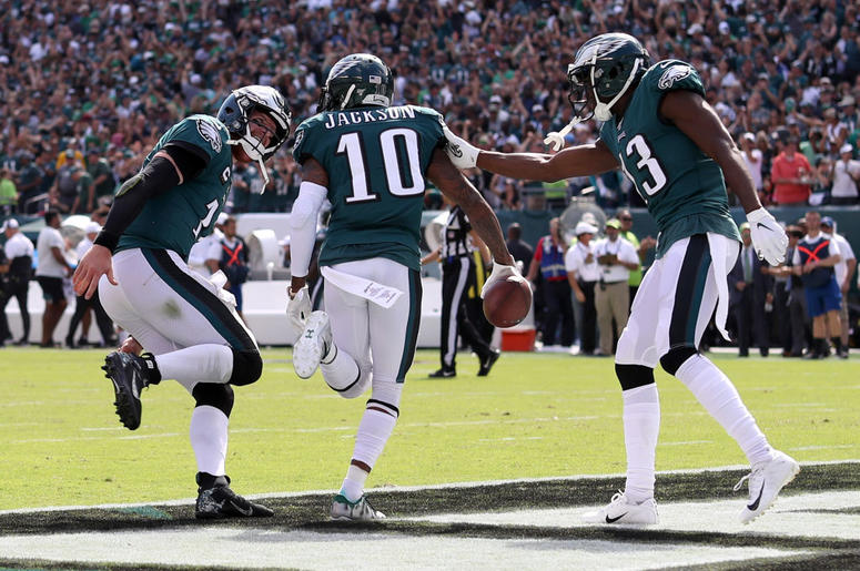 photograph regarding Philadelphia Eagles Printable Schedule identified as DeSean Jackson Ratings Very first Touchdown Philadelphia Eagles