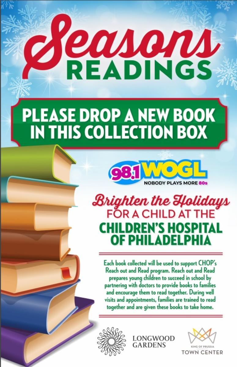 98 1 WOGL and Longwood Garden Present Season's Readings | 98 1 WOGL
