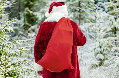 """Day 12: Jolly Jim's Sack is Overflowing for Our 12 Days of Christmas Giving! What """"gift"""" did John Lange of Reedsburg find in there?"""