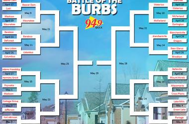 LISTEN:  Adams-Friendship VS Harmony Grove in our Battle of the Burbs Trivia Round 9