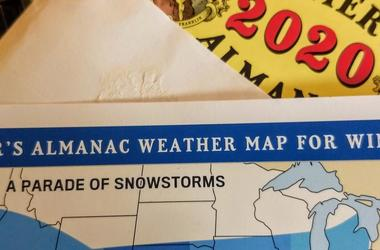 "LISTEN: The Farmer's Almanac Winter Forecast. Why Jim & Teri are worried by the word, ""wallop."""
