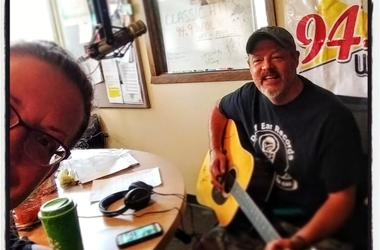 LISTEN McGaw-less in the Morning:  Teri has fun with guest co-host #1