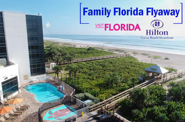 LISTEN: Who is WOLX sending to Cocoa Beach & the Hilton Oceanfront in Florida? Jim & Teri call the winning listener!