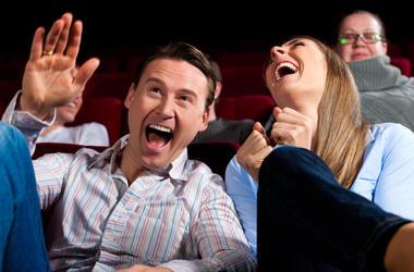 LISTEN: Scared Scriptless! Jim & Teri talk to funny guy & star of the show, Brad Sherwood