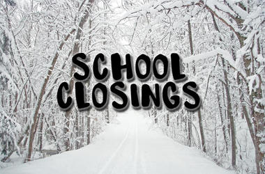 SCHOOL CLOSINGS for Tuesday, January 22, 2019