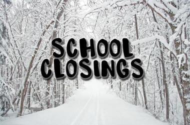 SCHOOL CLOSINGS & DELAYS on Thursday, February 7, 2019