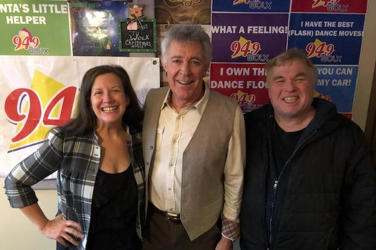 """LISTEN: """"Marcia, Marcia..!"""" Nope. The Actor who played Greg Brady, Barry Williams, Joins Jim & Teri In-Studio"""