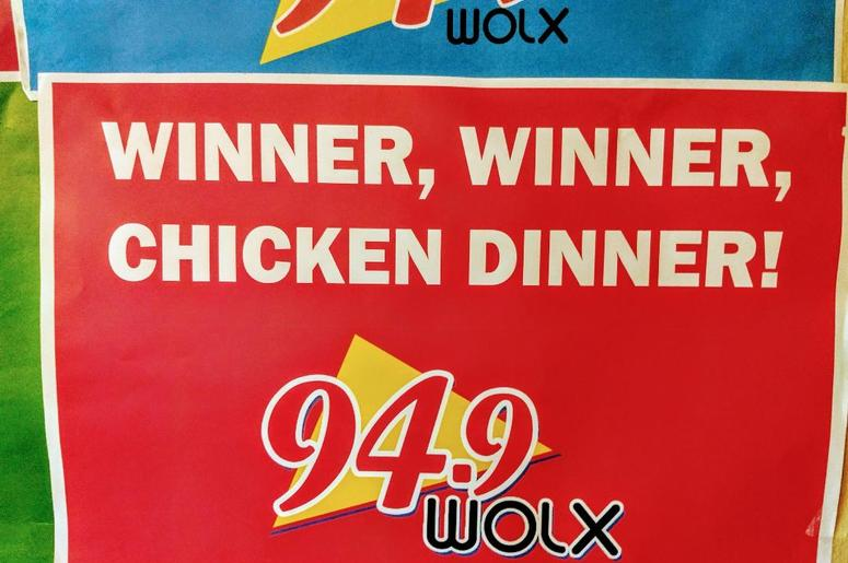 LISTEN:  Winning with McGaw in the Morning on WOLX!