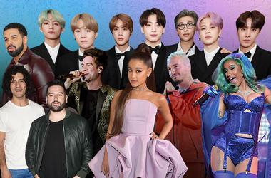 Billboard Music Awards Nominees
