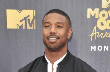 Michael B. Jordan at the 2018 MTV Movie And TV Awards held at Barker Hangar on June 16, 2018 in Santa Monica, CA, USA