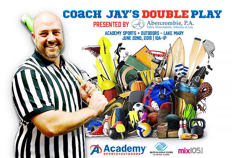 Coach Jays Double Play