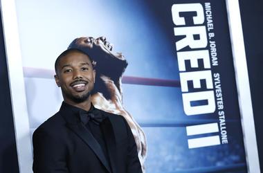 Michael b Jordan attends 'Creed II'