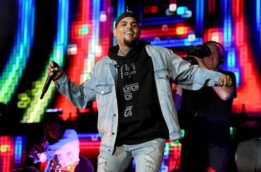 Chris Brown is headed to D.C.