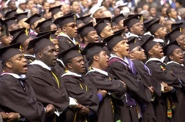 Morehouse 2019 graduates received the gift of a future free of student loans.