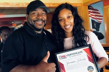 Jawanna Hardy Real Good People Awards Shack