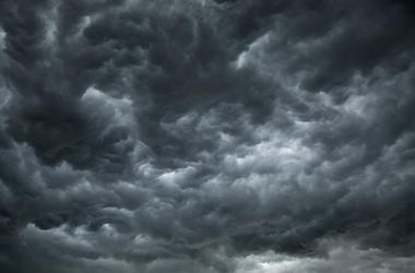 rain clouds storm weather