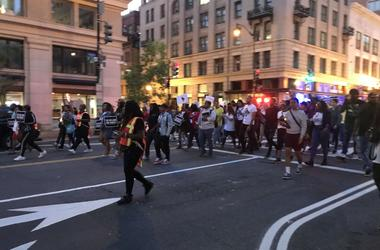 The Million Moe March advocated for an end to gun violence and DC statehood.
