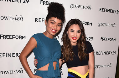 Yara Shahidi and Francia Raisa