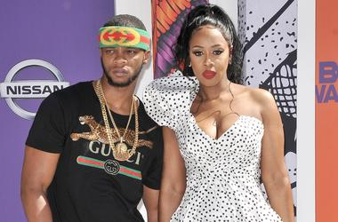 Papoose and Remy Ma at the 2018 BET Awards