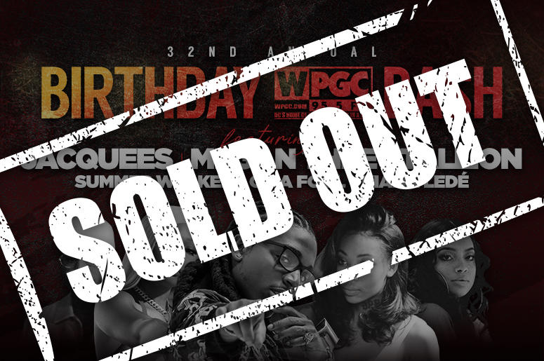 Birthday Bash Sold Out